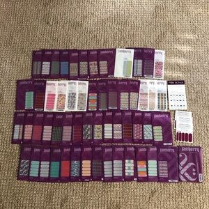 Jamberry Nail Wraps Set of 56
